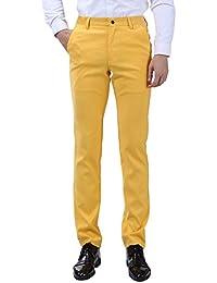 Hommes Pantalon de costume Slim était mince jean droit taille 30~40 Harrms