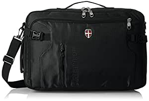 Ellehammer Bergen 32 Ltrs Convertible Black Laptop Bag (50020-01)
