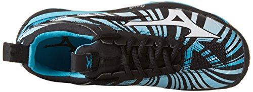 Mizuno Waver Mirage, Chaussure de Sport Homme Blu (Blue Atoll/White/Black)