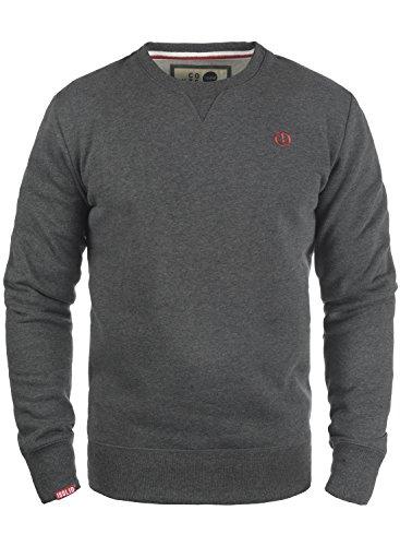 SOLID Benn O-Neck Pullover, Größe:XXL;Farbe:Med Grey (8254)