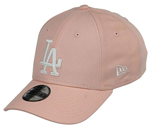 New Era Los Angeles Dodgers 9forty Adjustable Women Cap League Essential Plum/White - Youth Rosa Youth Cap