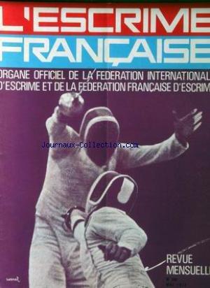 ESCRIME FRANCAISE (L') [No 294] du 01/05/1975 - par Collectif