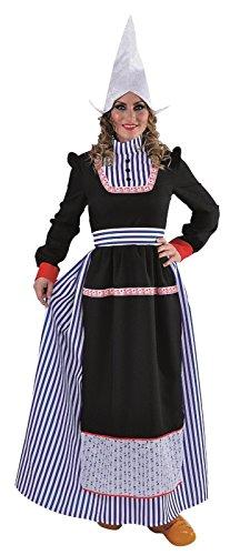 Kostüm Holländerin - M215173-XL Damen Hollandkleid lang Holländerin Gr.XL