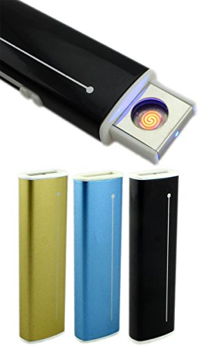 GYD Strom USB Feuerzeug Elektro Feuerzeug PC Slim Line