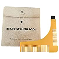Beard Grooming Beard Comb and Shaping Template