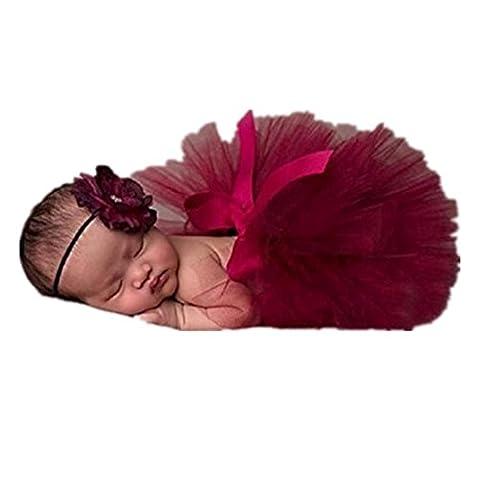 Tutu Filles Costumes - Fami Nouveau-né Bébé tutu Robe photo Photographie