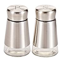 Harmony 90 ml Salt And Pepper Shaker Set - 2 Pieces (Silver)