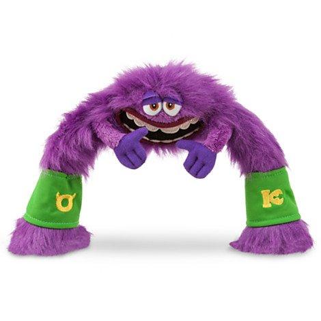 Disney Store mini-Sitzsack-Plüsch Kunst–Monsters University 19,1cm (University Kunst Monsters)