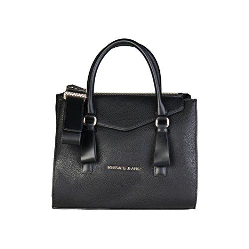 Versace Farbe Schwarz E1VQBBP3 Jeans Handtaschen Schwarz Jeans Schwarz Damen Damen Marke Handtaschen Modell OUqrpOx