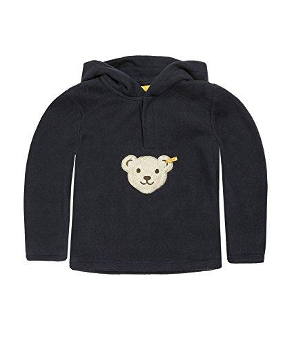 Steiff Steiff Unisex - Baby Sweatshirt 1/1 Arm 0006863, Einfarbig, Gr. 62, Blau (Marine )