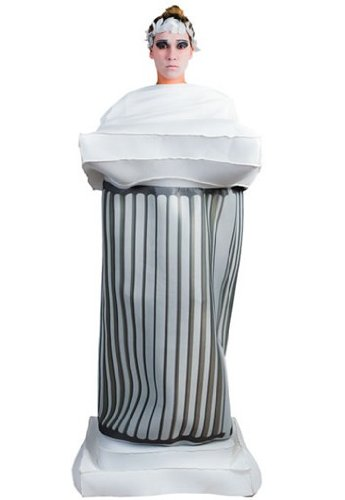Fyasa 705856-t04Griechische Spalte Fancy Kleid Kostüm, - Herren Griechische Götter Kostüm