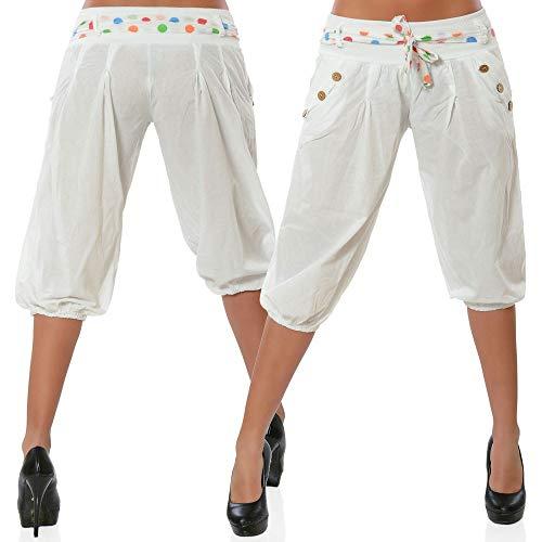 WQIANGHZI Damen Leggings 3/4, Sporthose Fitnesshose Training Laufhose Sport Tights Hohe Taille Yogahose -