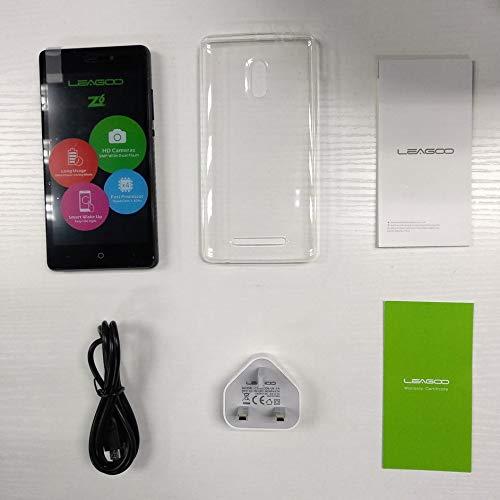 iUcar LEAGOO Z6 4.97 Zoll 1 + 8G Adroid 6.0 Quad-Core 2000 mAh Smartphone UK-Stecker -GoldenUK-Stecker