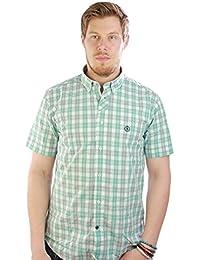 HENRI LLOYD Marsh Regular S/s Shirt Mint/white