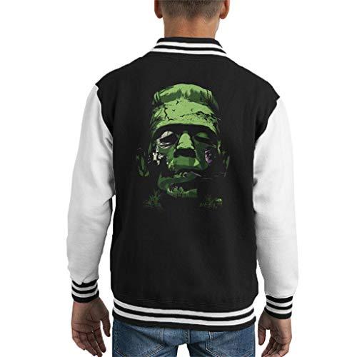 Cloud City 7 Frankenstein Silhouette Kid's Varsity Jacket