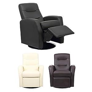41GO6wtdSGL. SS300  - XSS Kids Reclining Swivel Chair Living Room Furniture Padded Faux Leather Headrest