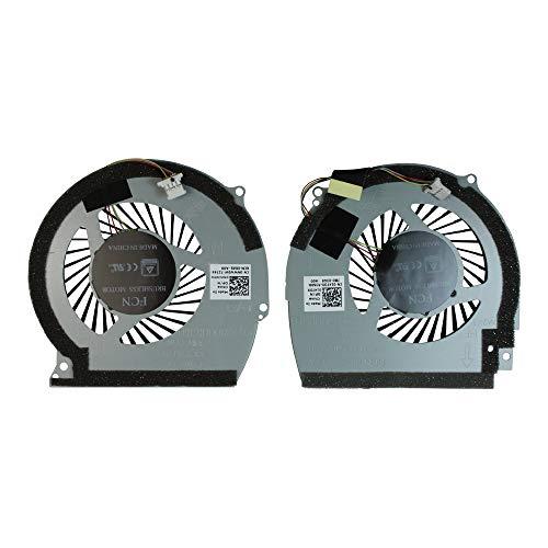 Power4Laptops DELL Inspiron 7567 Ventilador para Ordenadores portátiles  (Par)