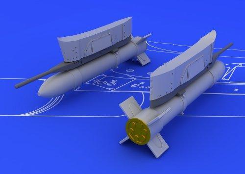 Eduard Brassin 1:72 - S-21 Soviet Unguided Rocket - EDB672009