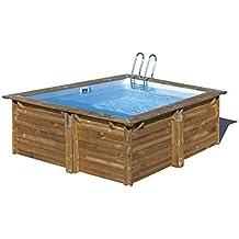 Amazon.it: piscina fuori terra legno