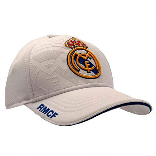 GORRA REAL MADRID PRODUCTO OFICIAL- BLANCA 2017-2018 9b282f1aa1a