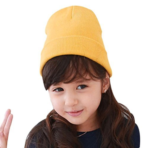 25ae03b365c Tuscom Baby Beanie Boy Girls Soft Hat Children Winter Warm Kids Knitted Cap  (4M-