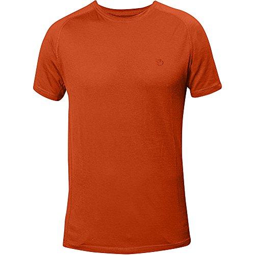 Fjällräven Herren Abisko Trail T-Shirt Flame Orange (214)