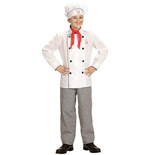 Widmann - Kinderkostüm Chefkoch (Halloween-kostüme Für 10 Jährige)