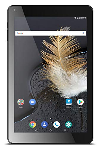 Odys Titan 10 LTE, schwarz, 10Zoll, HD IPS 800x1280, Quad Core Prozessor, 2 GB RAM, 16 GB Flash, GPS, Android 8.1, Dual SIM LTE, Aluminiumgehäuse, 2,4 u. 5GHz WLAN -