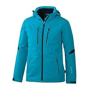 Etirel koby 221341 aquamax veste de ski pour homme bleu/noir (black night) 56