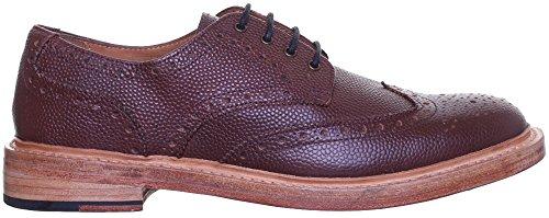 Reece Justin Dylan renforcées en cuir GoodYear mat pour chaussures Rouge - Bordeaux