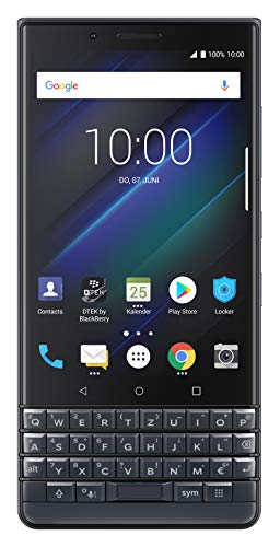 BlackBerry KEY2 LE 11,4 cm (4.5') 4 GB 64 GB SIM Doble 4G Azul 3000 mAh - Smartphone (11,4 cm (4.5'), 4 GB, 64 GB, 13 MP, Android 8.1, Azul)