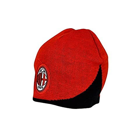 AC Milan FC Wave Knitted Beanie Hat