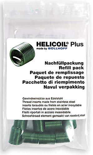 HELICOIL Plus Gewindeeinsätze Nachfüllpackung M8x16 P1,25 metrisch 10 Stück -
