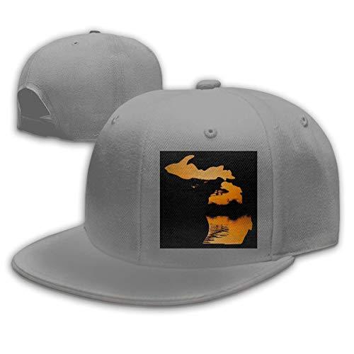 DAIAII Herren Baseball Caps,Hüte, Mützen, Classic Baseball Cap, Michigan Setting Sun Women's Men's Adjustable Plain Baseball Cap Dad Hat (Fiestas De Adolescentes Halloween)
