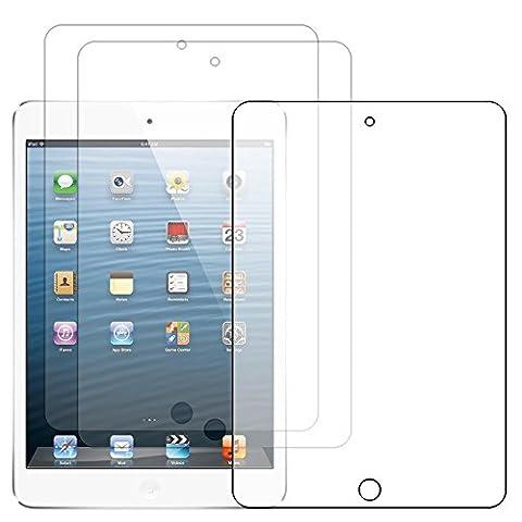 ebestStar - pour Apple iPad Mini 1, Mini 2, Mini 3 - Lot x3 Film Protection d'écran anti rayures Protecteur Transparent [Dimensions PRECISES de votre appareil : 200 x 134.7 x 7.2/7.5 mm, écran 7.9'']