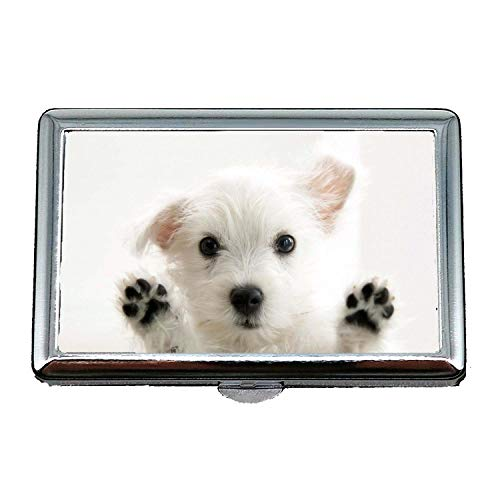 Zigarettenetui, Bunte süße Hund Hund, Kreditkarten-Protector