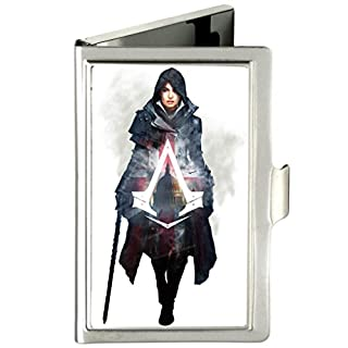 Buckle Down Men's Business Card Holder Wallet, Assassin's Creed, 3.7