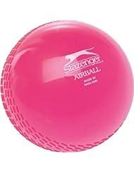 Slazenger Criquet Entrenamiento De Deportes Práctica Plástico Suave Bola Del Aire Rosa Paquete De 6 - Rosa, Junior