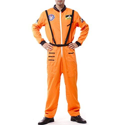 Gazechimp Astronauten Kostüm Herren Kostüm Astronautenkostüm Astronauten Overall (Halloween-kostüme Astronaut)