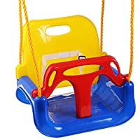 ‏‪3 in 1 Multifunctional Children Swing Kindergarten Playground Family Large Space Color Baby Swing Children Outdoor Toys Gifts‬‏