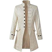 Blouson Homme Hiver Manteau Impression Habit Veste Redingote Gothique  Costume Uniforme Hommes Praty Outwear 6ff025212ec