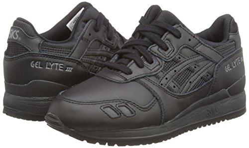 Asics Gel-lyte Iii, Sneakers Basses Mixte adulte Noir