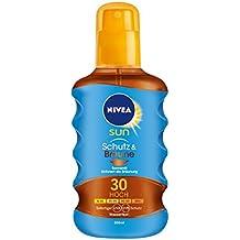 Nivea Sun Protect & Bronze Öl Spray LSF 30, 1er Pack (1 x 200 ml)
