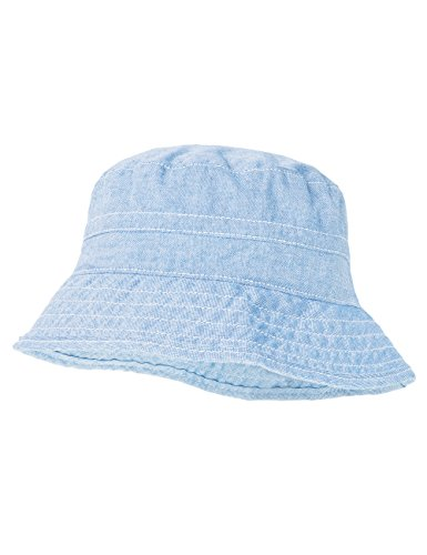 maximo Baby-Jungen Hut Sonnenhut, Blau (Zartblau 33), 49