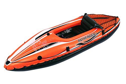 JILONG JL007202N 1personas(s) Negro, Naranja PVC Kayak Inflable Kayak Deportivo - Kayaks...