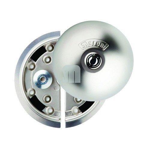UFO-398 8080331215D Cerradura de Seguridad, 0 V, Nickel Opaco