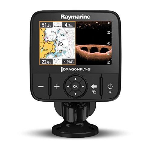 Raymarine E70293-CEUR Dragonfly-5Pro Sonar/GPS (12,7 cm (5 Zoll), integrierte CHIRP Down Vision, CPT-DVS, WiFi, EU-CMAP Essentials Kartografie)