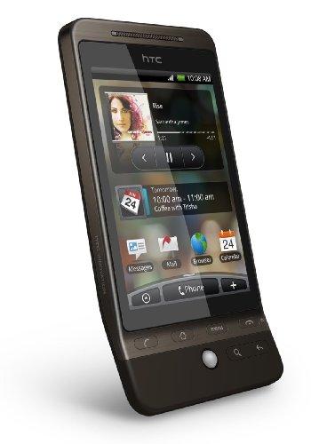 HTC Hero Smartphone (Android, 5MP Kamera, GPS, WLAN) braun schwarz