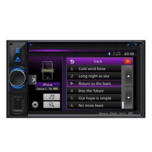 Clarion NX404E - Sistema multimedia y de navegación inalámbrica compatible con dispositivos...
