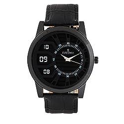 Escort Analog Black Dial Mens Watch- 2110 BL